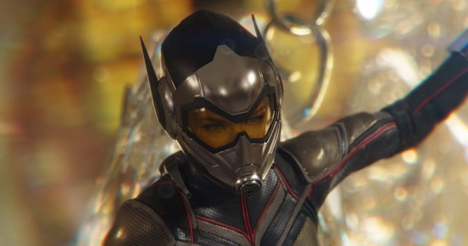 Ant-man and the wasp review for kids