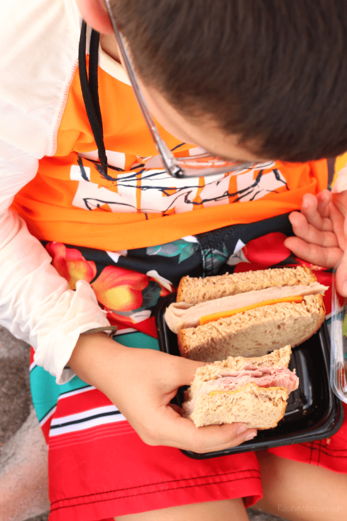 Easy beach picnic food ideas