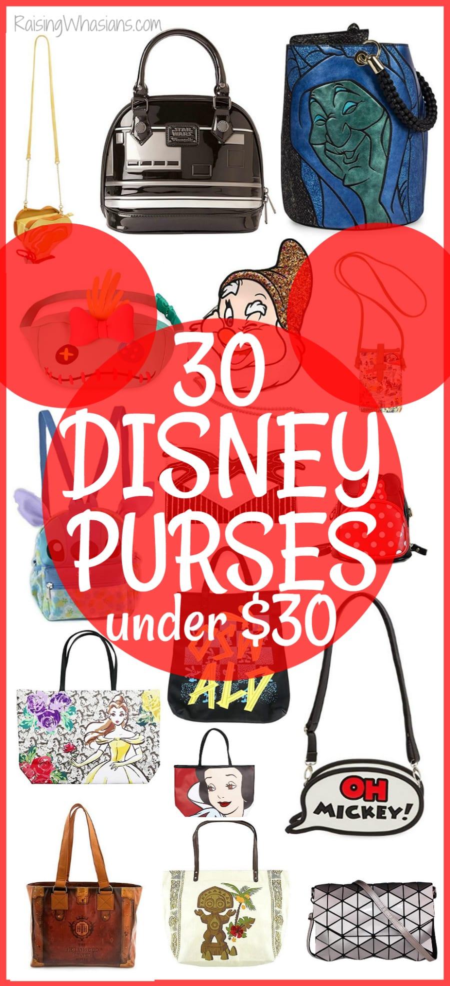 Disney purses under 30