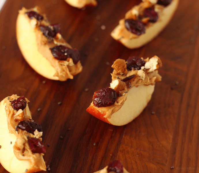 Kid-approved apple bites snack idea