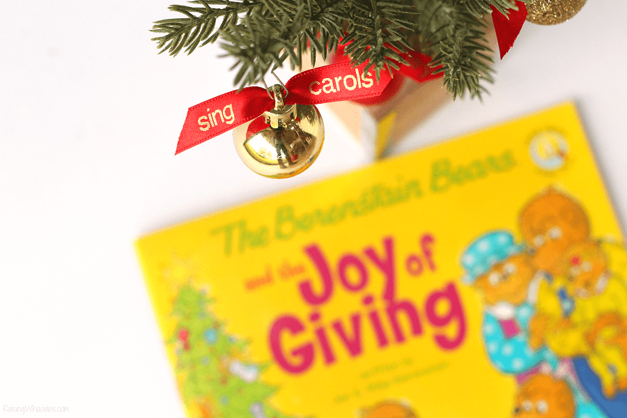 Christmas giving projects for kids