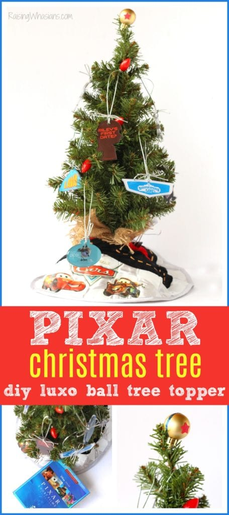 DIY Pixar tree topper