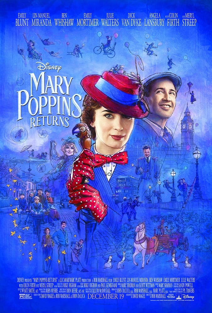 Mary Poppins Returns movie review safe for kids