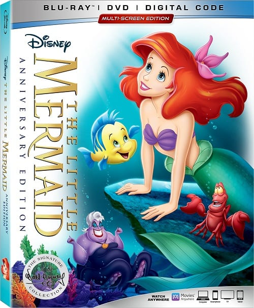 The little mermaid anniversary edition bonus features