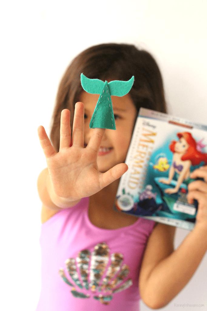 The little mermaid craft idea