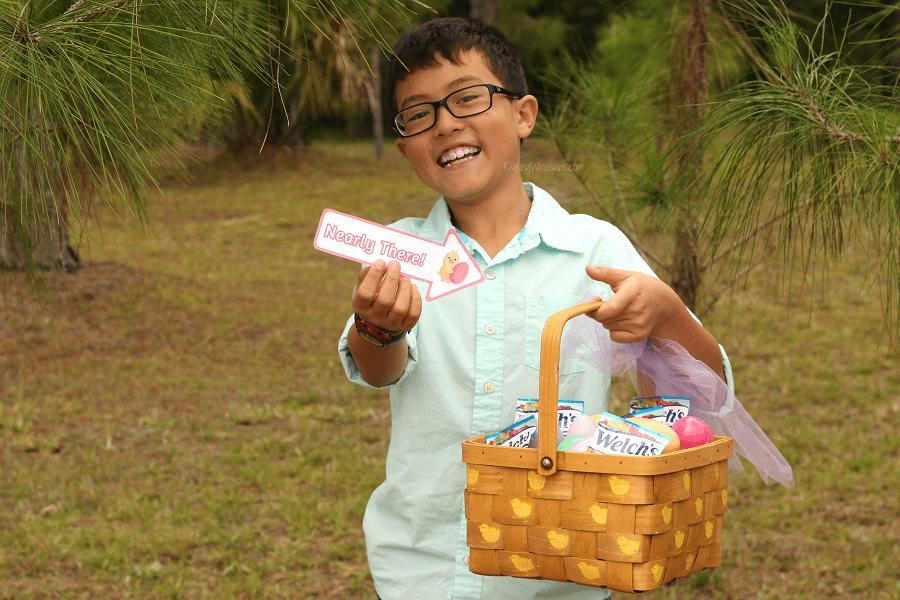 Easter egg hunt signs printable
