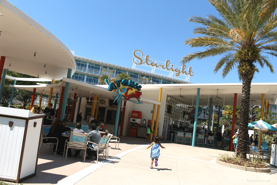 Cabana bay beach resort dining
