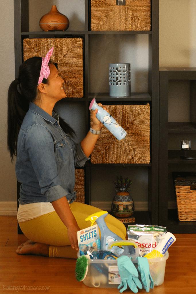 Febreze hacks spring cleaning