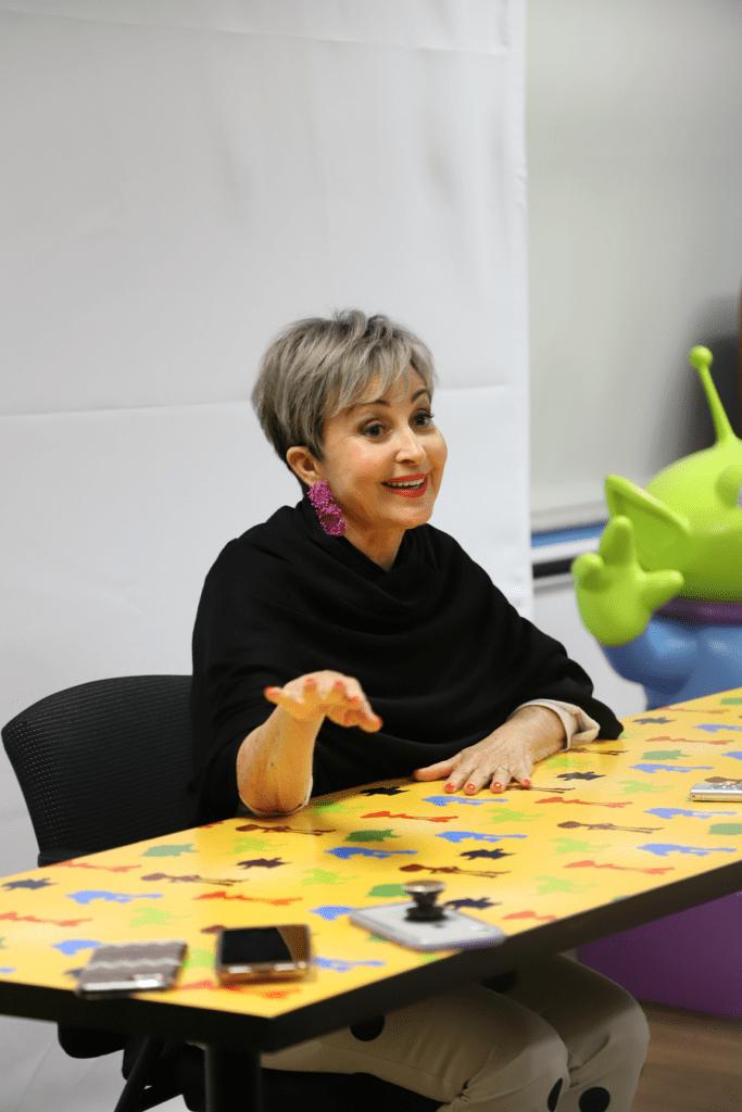 Annie Potts on bo peep toy story 4