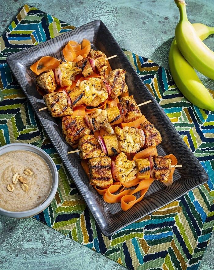 Healthy chicken skewers recipe