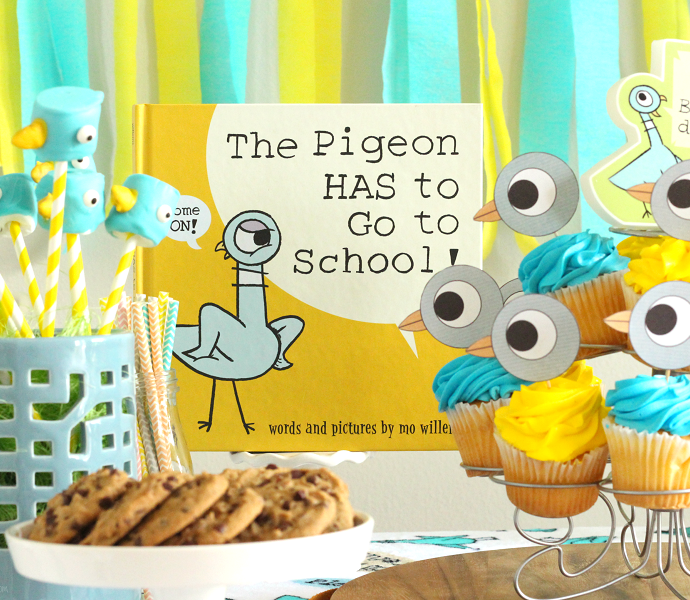 Mo Willems pigeon party ideas