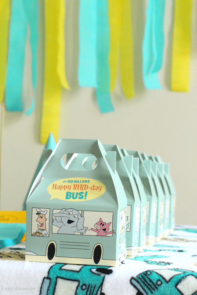 Pigeon party favors