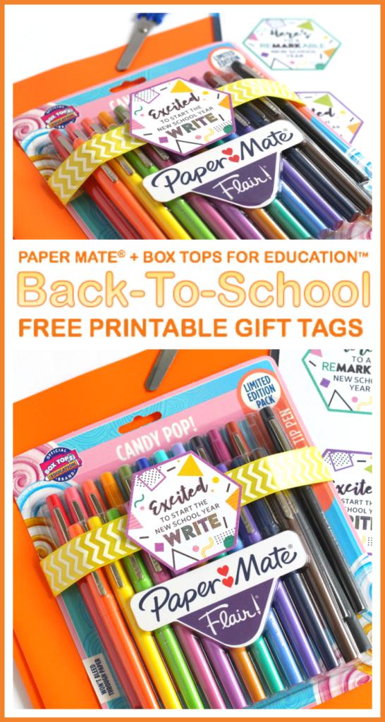 Free teacher appreciation printable gift tag