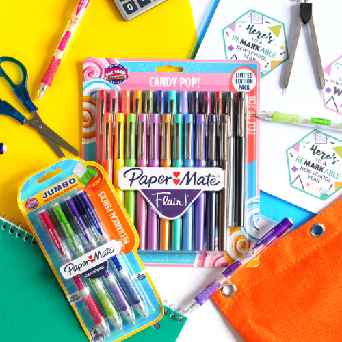 Paper mate and box tops for education