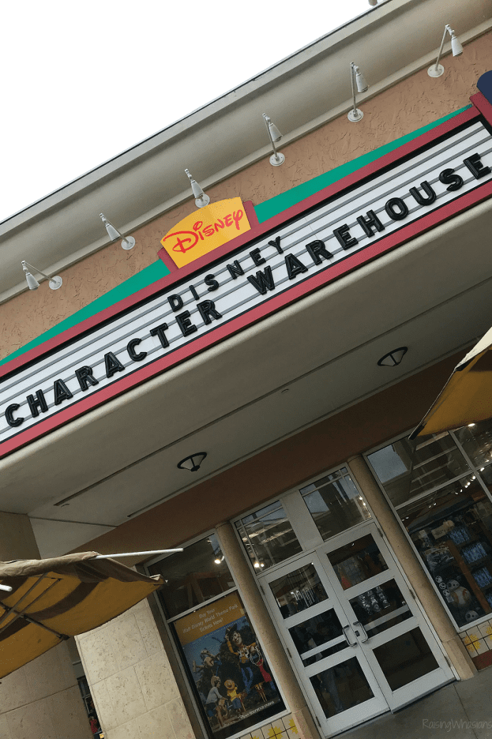 Disney outlet shopping tips