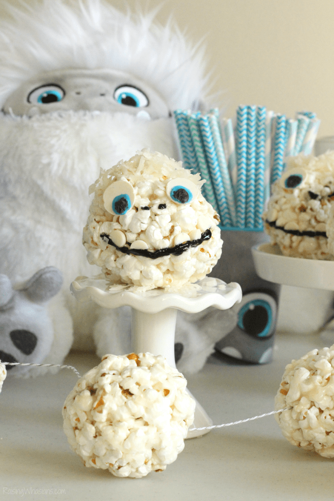 Abominable movie party ideas