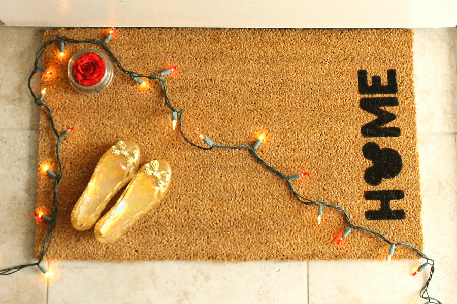 DIY Disney door mat