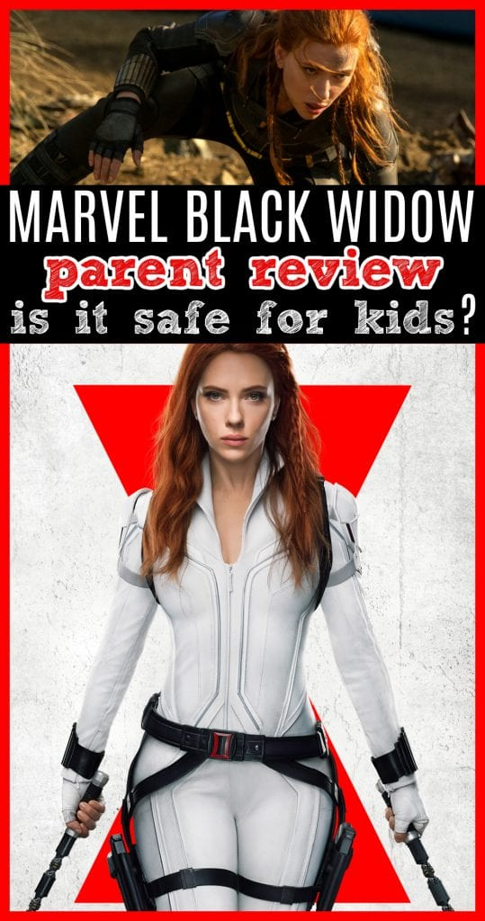 Is black widow safe for kids
