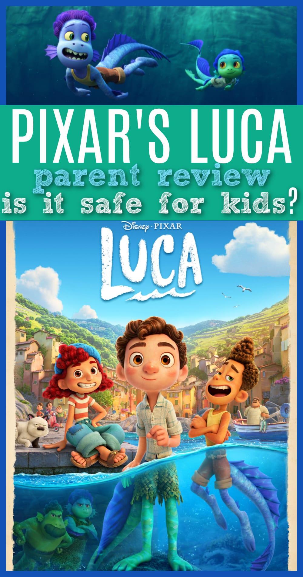 Is Luca safe for kids