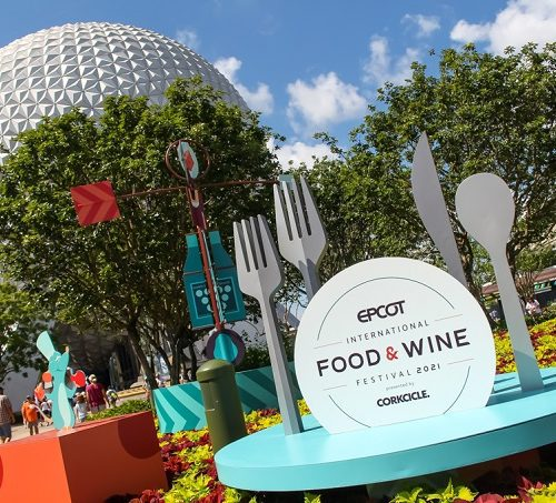 New Epcot food and wine festival booths