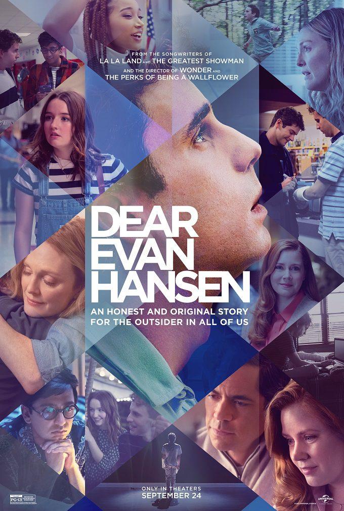 Dear Evan Hansen movie review safe for kids