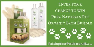 Pet Contests and Giveaways: Pura Naturals Pet Organic Bath Bundles