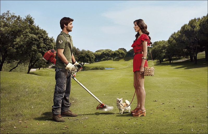 Amor a primeira vista existe... se você acreditar nele. Só cuidado com o cachorrinho...
