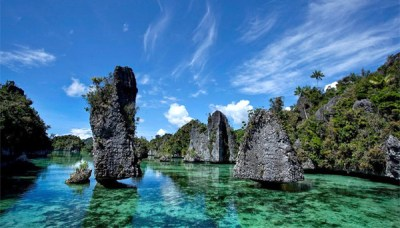 A Spectacular View in Yapap, Misool Island, Raja Ampat Regency