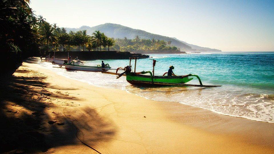 Indonesian Islands beach