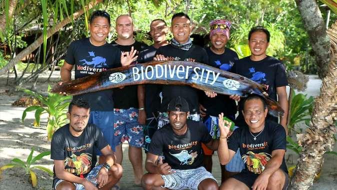 Resort para buceadores en raja ampat biodiversity