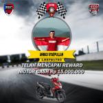 Ahmad Syaepullah Buruh Pabrik dari Kota Tangerang Dapat Motor Cash dari Pt Best Eco Racing