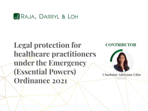 Legal protection for healthcare practitioners
