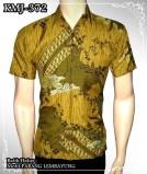batik modern semi sutera motif Parang Lembayung
