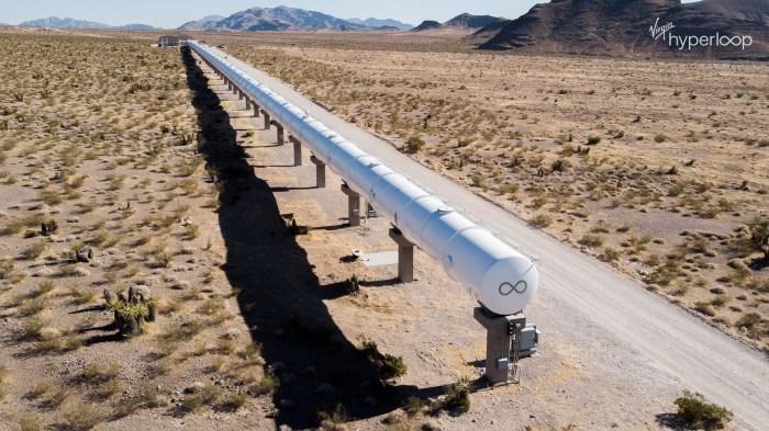 Virgin Hyperloop Vacuum Tube