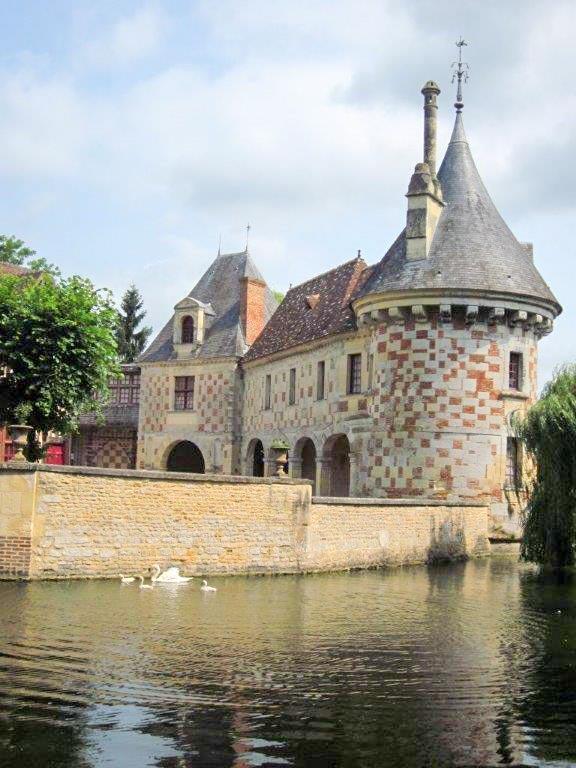 Ranska-Saint-Germain-de-Livet-linna