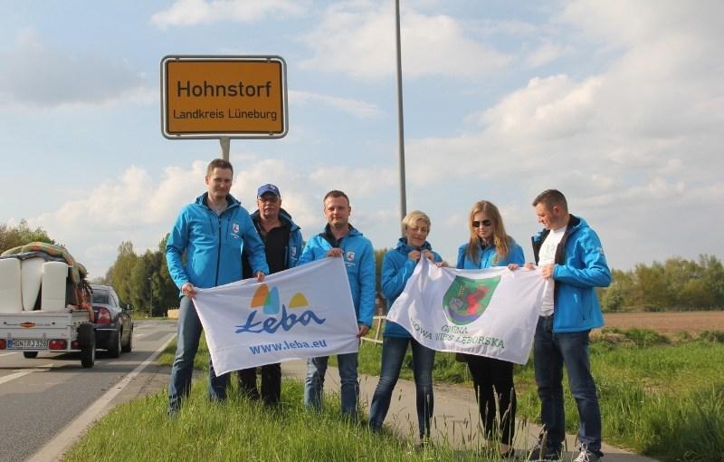 Rowerzyści dojechali do Hohnstorf'u.