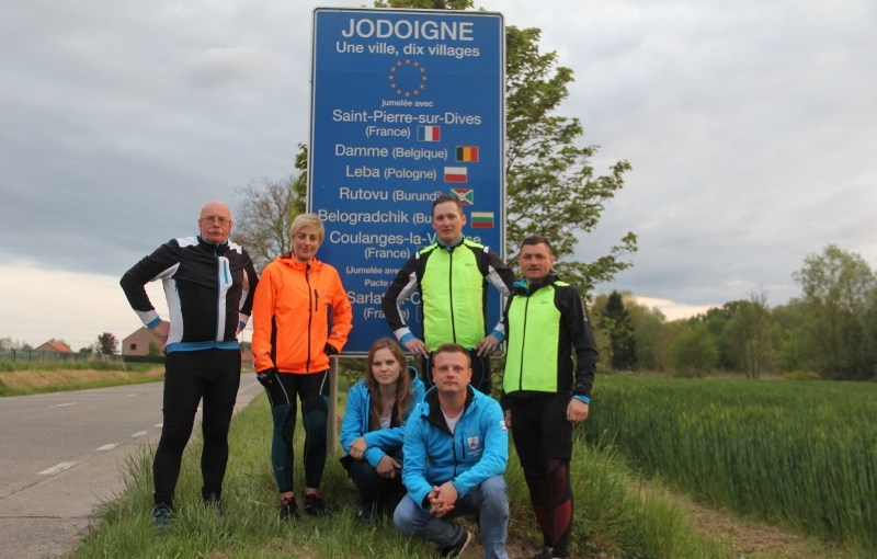 Rowerzyści dojechali do JODOIGNE! Odwiedziny także w Parlamencie Europejskim