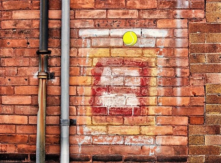 wall and ball