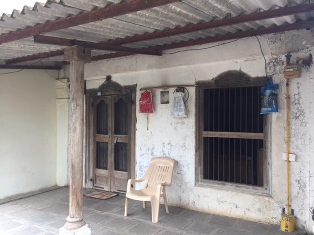 Front veranda of old type house