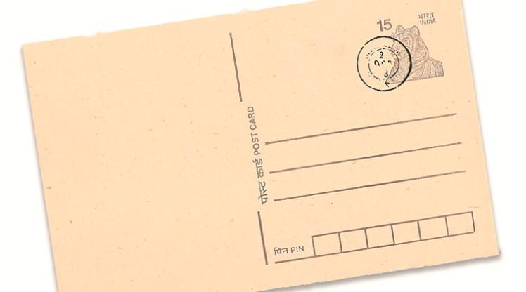 old design post card