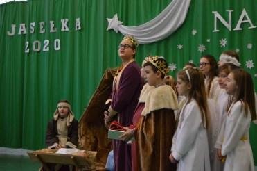 Występ uczniów z Bełdy