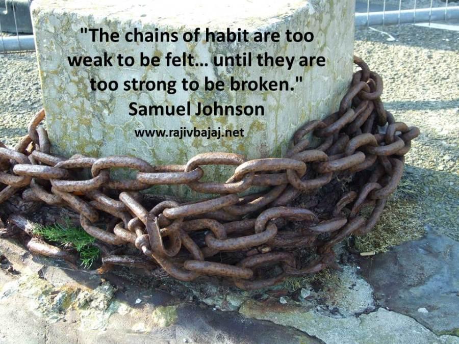 chains of habit