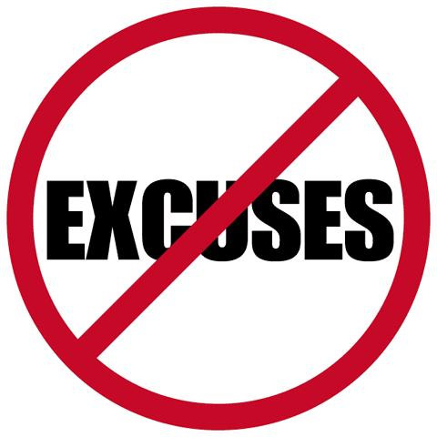 Customers Don't Buy Excuses !