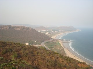 Bay of Bengal from Kailash Hill