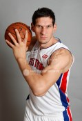 Sep 25, 2017; Detroit, MI, USA; Detroit Pistons center Boban Marjanovic (51) poses for a photo during media day at The Palace of Auburn Hills. Mandatory Credit: Raj Mehta-USA TODAY Sports