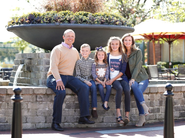 Family Portraits in Northville, MI.
