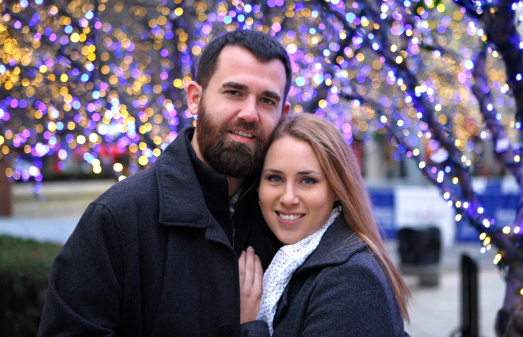Proposal and Engagement Photos in Detroit, MI.