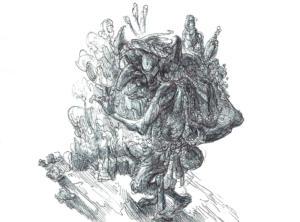 Inktober 2015: Goblin