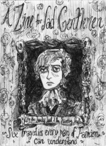 "Front Cover (""A Zine For Sad Gentlemen"")"