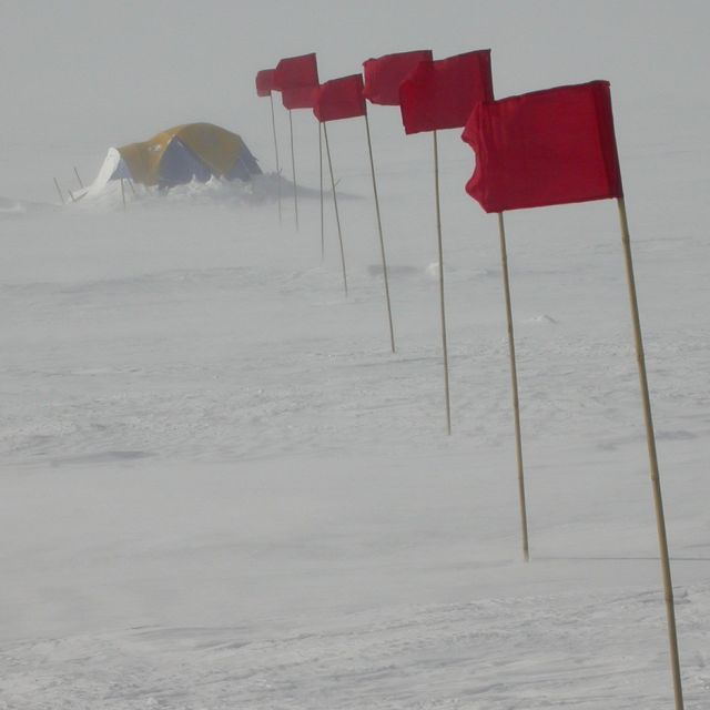 Antartica, coldest place on earth